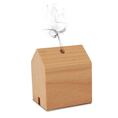 Smoke house incense burner