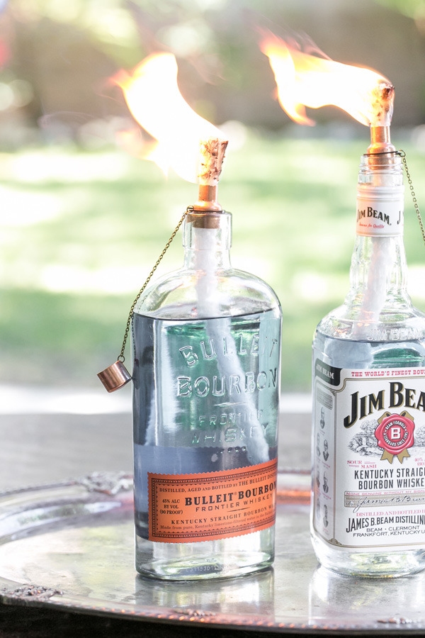 DIY Tiki Touch Bottles