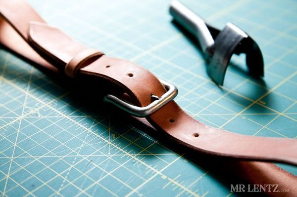 DIY Leather Belt - Mr. Lentz
