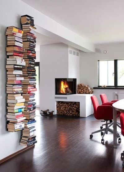 DIY Idea: Books as Decor