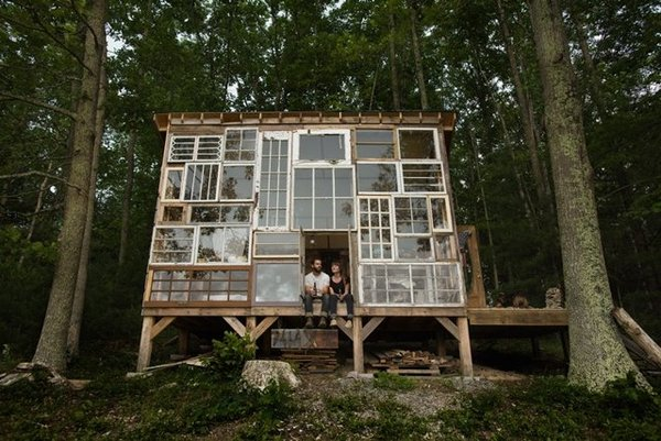 The $500 DIY Glass Home