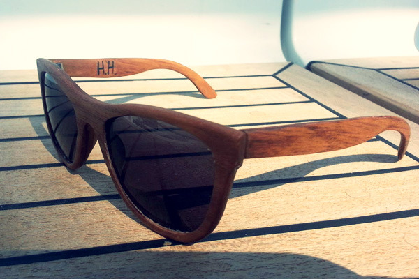 How to: Make Your Own DIY Wooden Sunglasses | Man Made DIY | Crafts ...