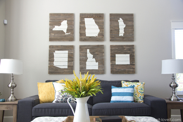 home-state art DIY