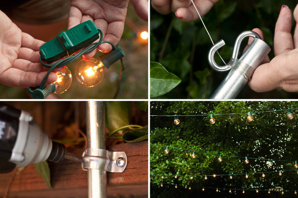 How To Hang String Lights In A Backyard : How to Host an All-Out Backyard Barbecue, Part I: The Plan Man Made DIY Crafts for Men ...