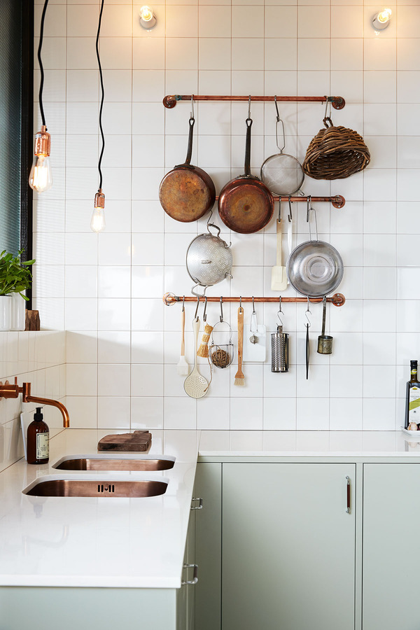 how to make stainless steel look rustic