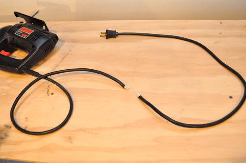 Cords For Electric Power Tools : How to repair a damaged electric or power cord man made