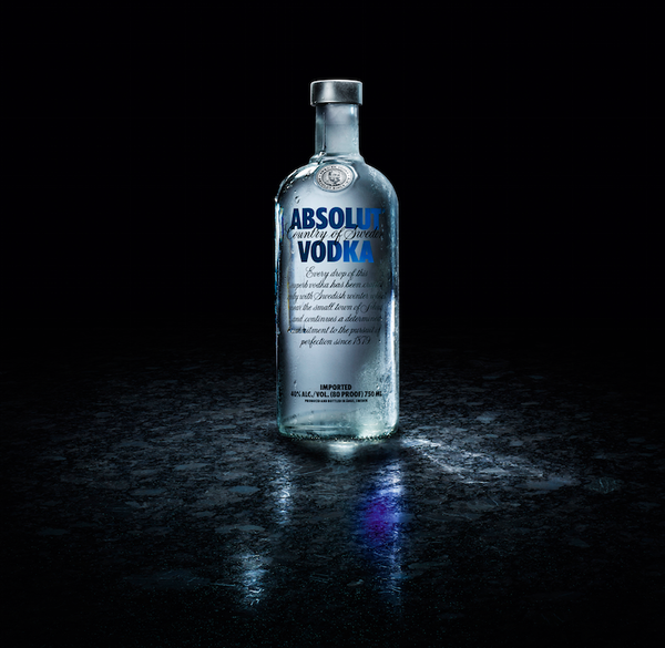 Absolut bottle