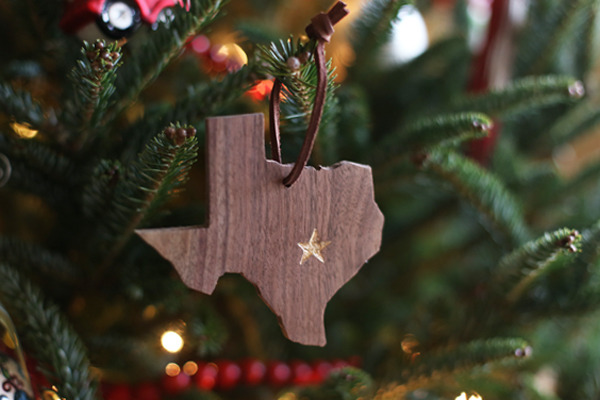 Make your own State Pride Christmas Ornament