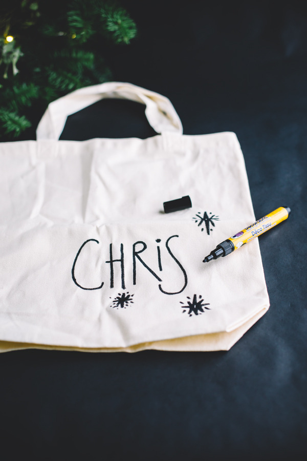 personalized tote bag DIY