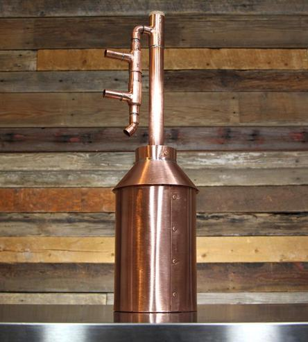 Build Your Own Copper Still And Make Your Own Spirits At