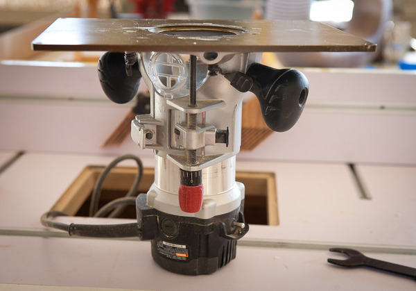 Craftsman Router With Plate