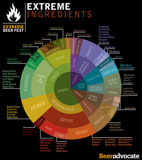 Extreme Ingredients in Beer
