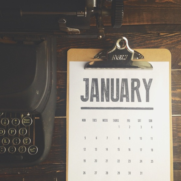 Diy Old Calendar : Free download vintage inspired printable typographic