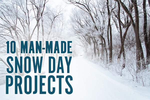 10 man-made snow day projects