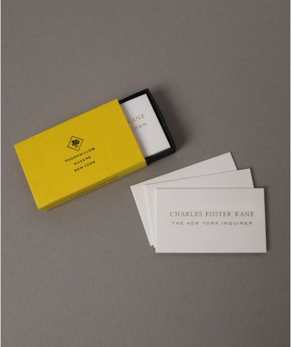 Business Cards In Case