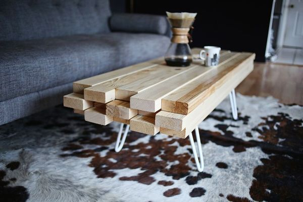 ... Coffee Table | Man Made DIY | Crafts for Men | Keywords: table, diy