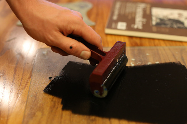 Turn a photograph into a rustic block print
