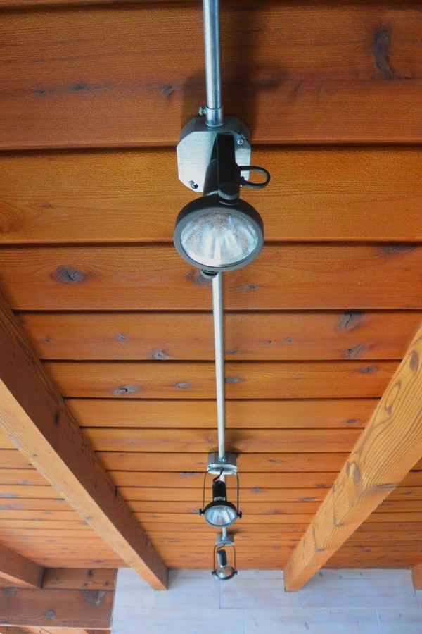how to install your own diy industrial track lighting