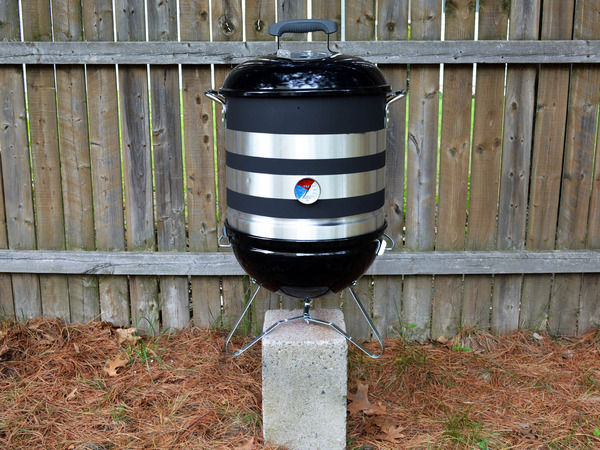 how to build a backyard bbq smoker from common materials no welding