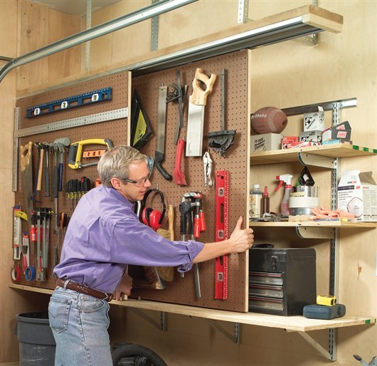 Space-Saving Shop Projects