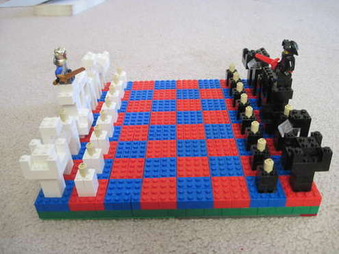 Awesome-lego-chess-set