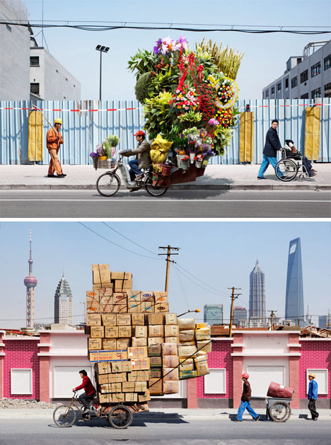 Bicycle-couriers-in-china