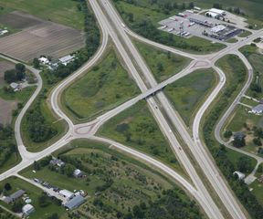 US223 / US23 Interchange Roundabout Reconstruction