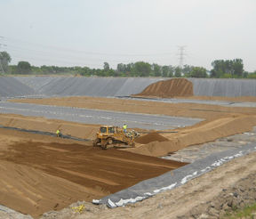 Landfill - Cell Liner Construction