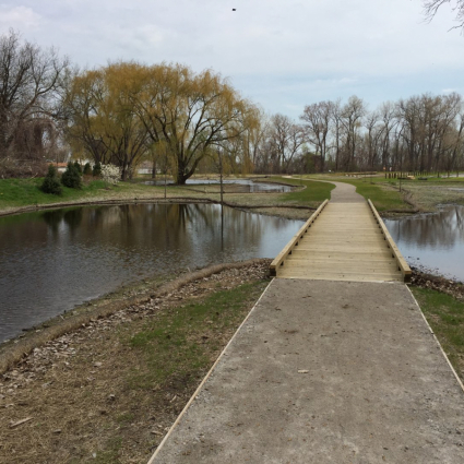 Permeable Trail & Boardwalk at Cullen Park