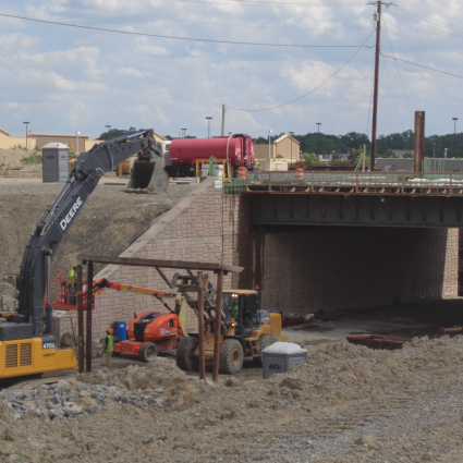 McCord Road Underpass Under Construction