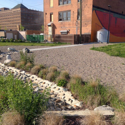 Stormwater Reuse System at UpTown Green Park