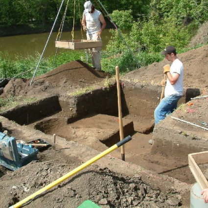 Archaeological Data Recovery Excavations of a Prehistoric Site