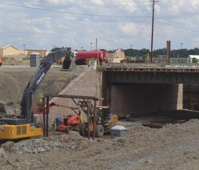 McCord Rd Underpass Under Construction
