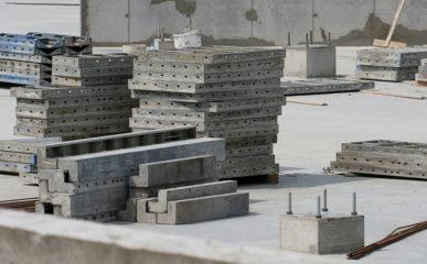 Fôrmas de concreto