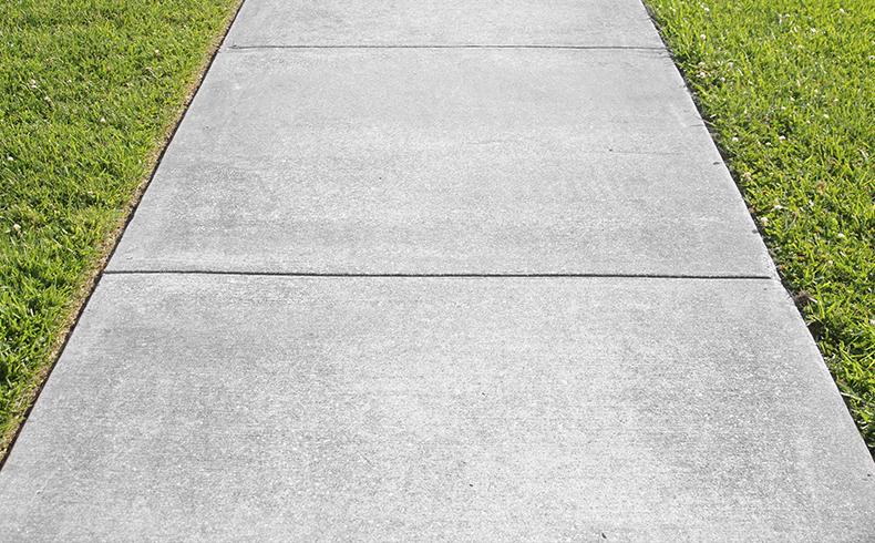 placas de concreto aparecem como op o para cal adas