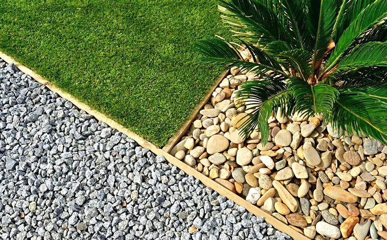 Suficiente Pedras para jardim são uma opção para drenagem de água - Negócios  VI55