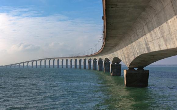 Utilize concreto submerso