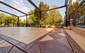 Conheça a funcionalidade do concreto estampado
