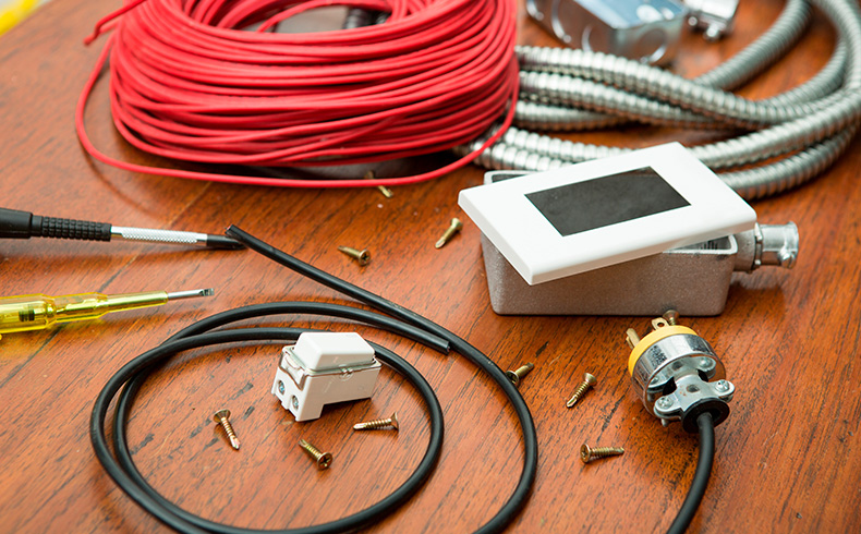 Materiais para instalação elétrica são essenciais em revendas