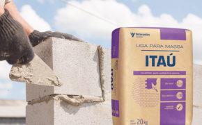 Liga para Massa Itaú: melhor escolha para o preparo de argamassa de reboco e blocos de alvenaria