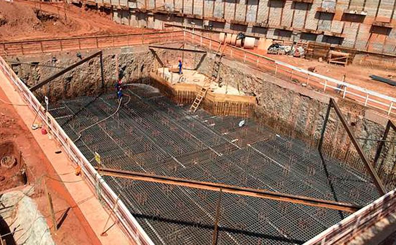 Fundações em hélice contínua monitorada