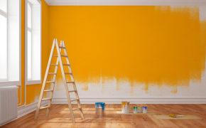 Materiais para pintura de parede na sua loja