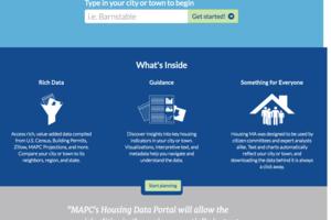 Massachusetts Housing Data Portal