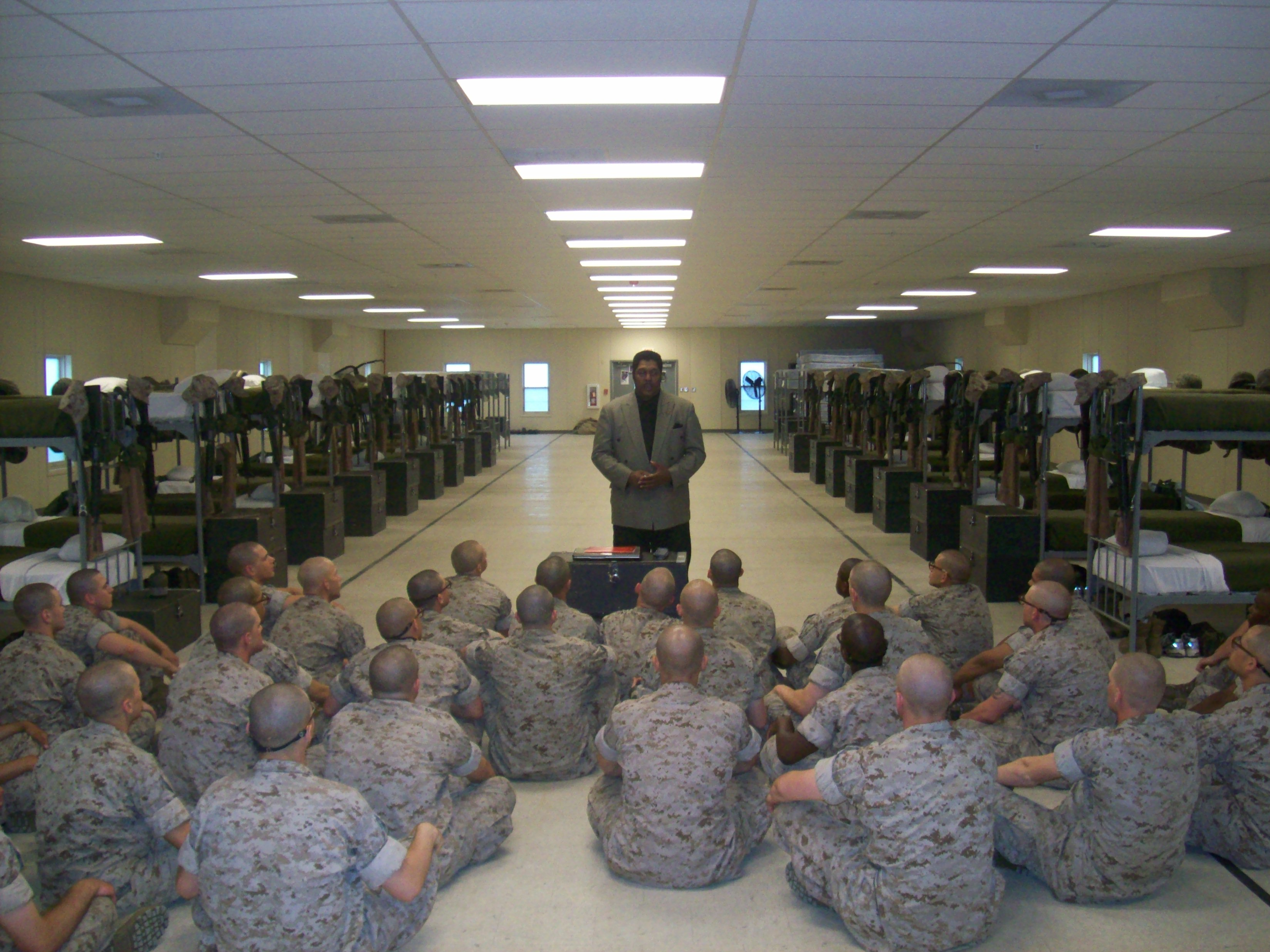 SSgt Leslie Little (Lifer) - Based on your own experiences, what advice would you give to those who have recently joined the Marine Corps?