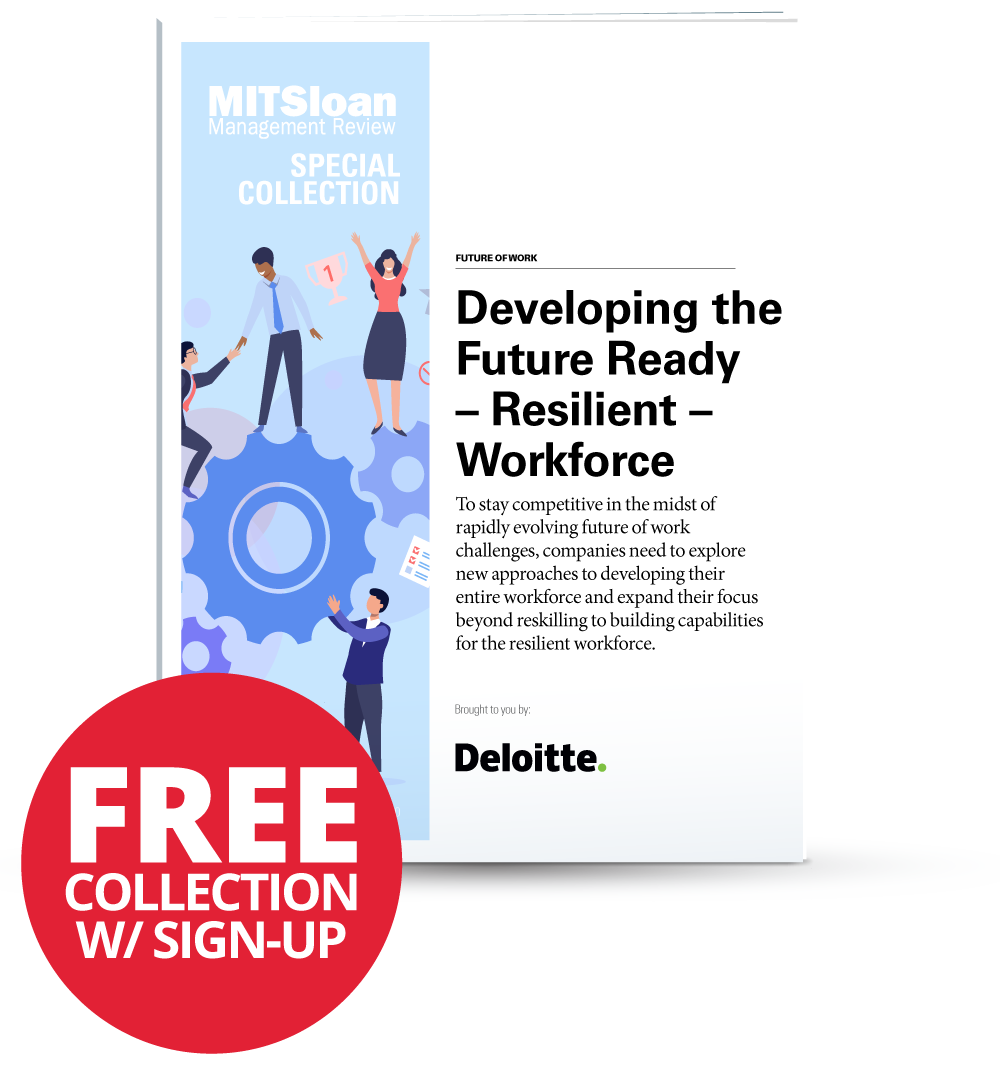 Developing the Future Ready – Resilient – Workforce