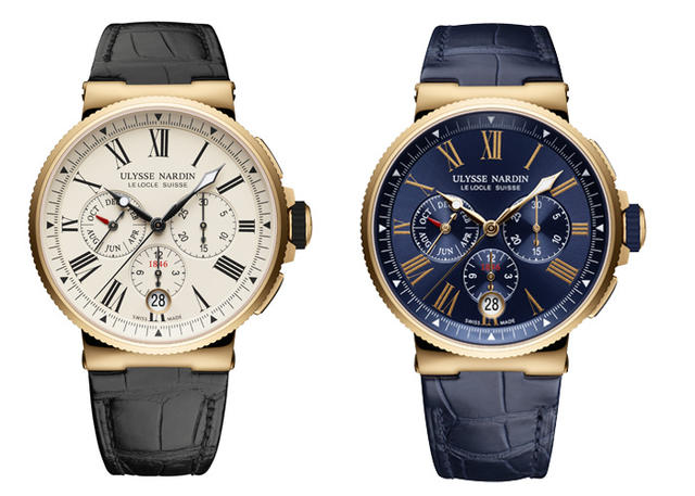 New Watch Alert: Ulysse Nardin Marine Chronograph Annual Calendar