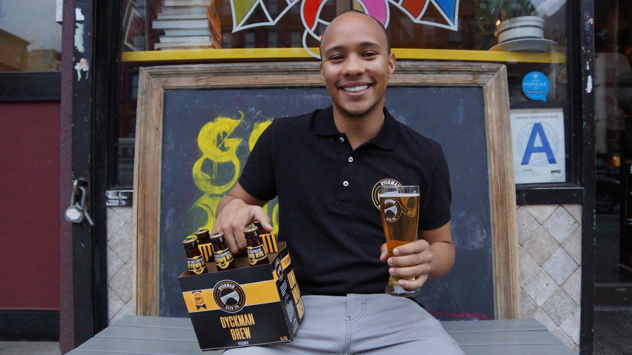 Dominicano crea la cerveza del Alto Manhattan