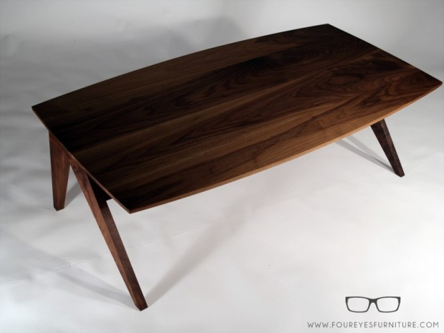 """Silver Fox"" Coffee Table, top view, by foureyes furniture at CustomMade.com"