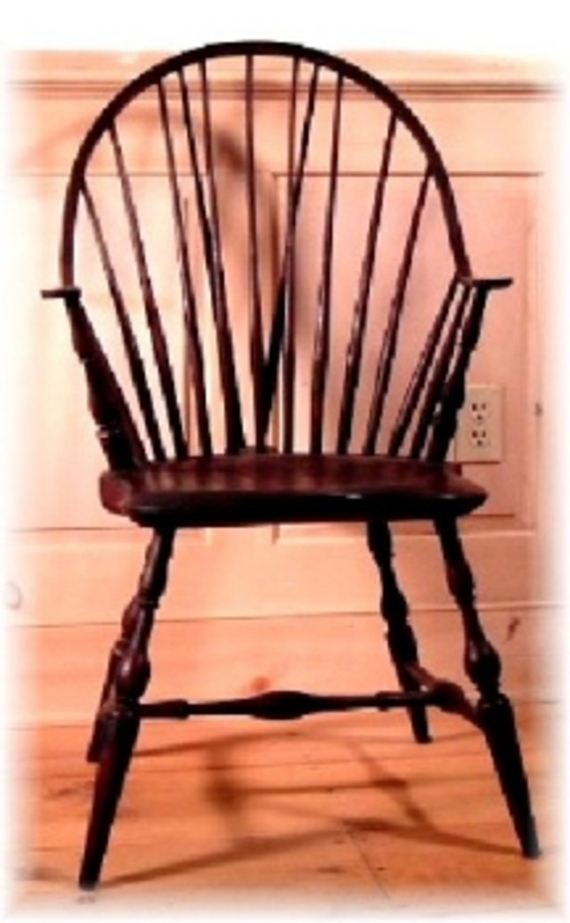 Continuous Arm Windsor Chair by D. C. Nauman, Chairmaker and Cabinetmaker at CustomMade.com