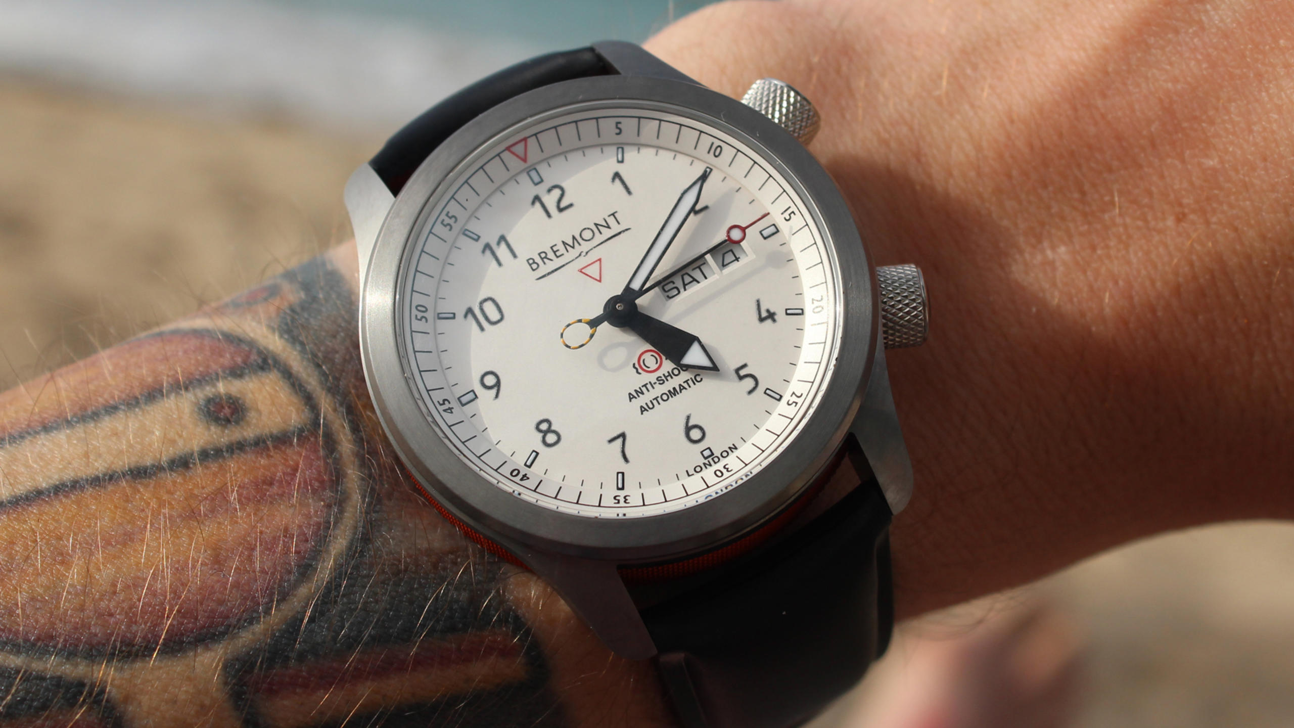 On the Wrist: Bremont MBII White